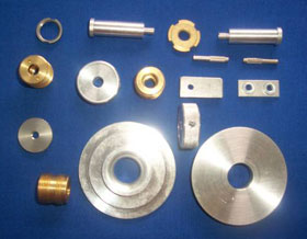 Various Machined Metal Fasteners