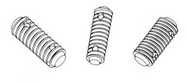 Threaded Studs Dimensions